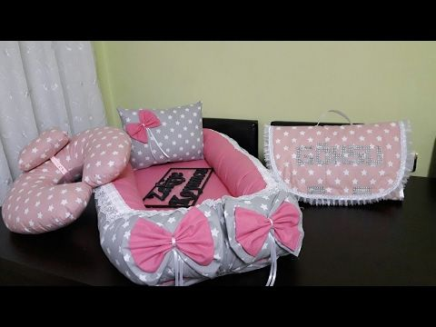 Diy Making Baby Basket Pillow And Bow Hasir Bebek Sepeti Susleme Yastik Ve Dolgulu Fiyonk Yapimi Youtube Baby Utensils Baby Projects Baby Sewing