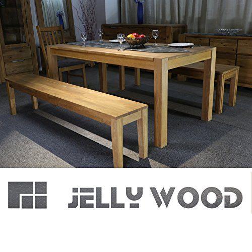 Massivholz Esstisch, Jellywood® FLORENZ, 180x90cm, Massivholztisch - ikea küche tisch