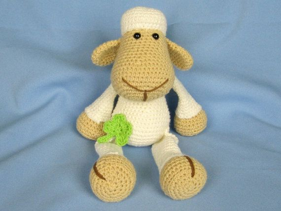 Amigurumi For Dummies Book : My friend sheep lamb lucy amigurumi crochet pattern pdf e book