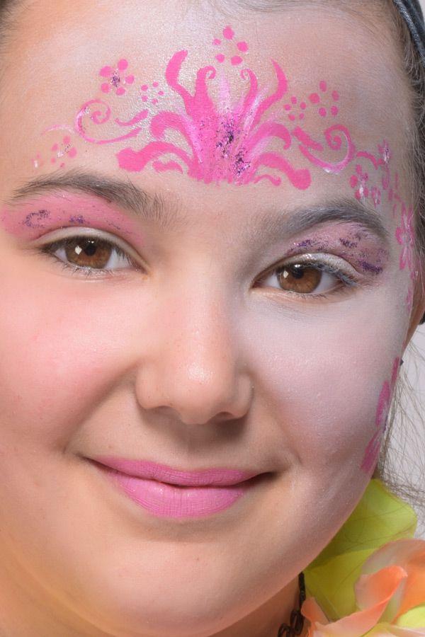 Maquillage Vaiana tuto illustré surprenant
