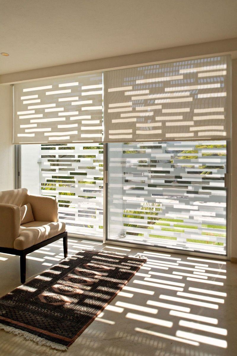 Casa Natalia by Agraz Arquitectos   Blinds design, Modern window ...