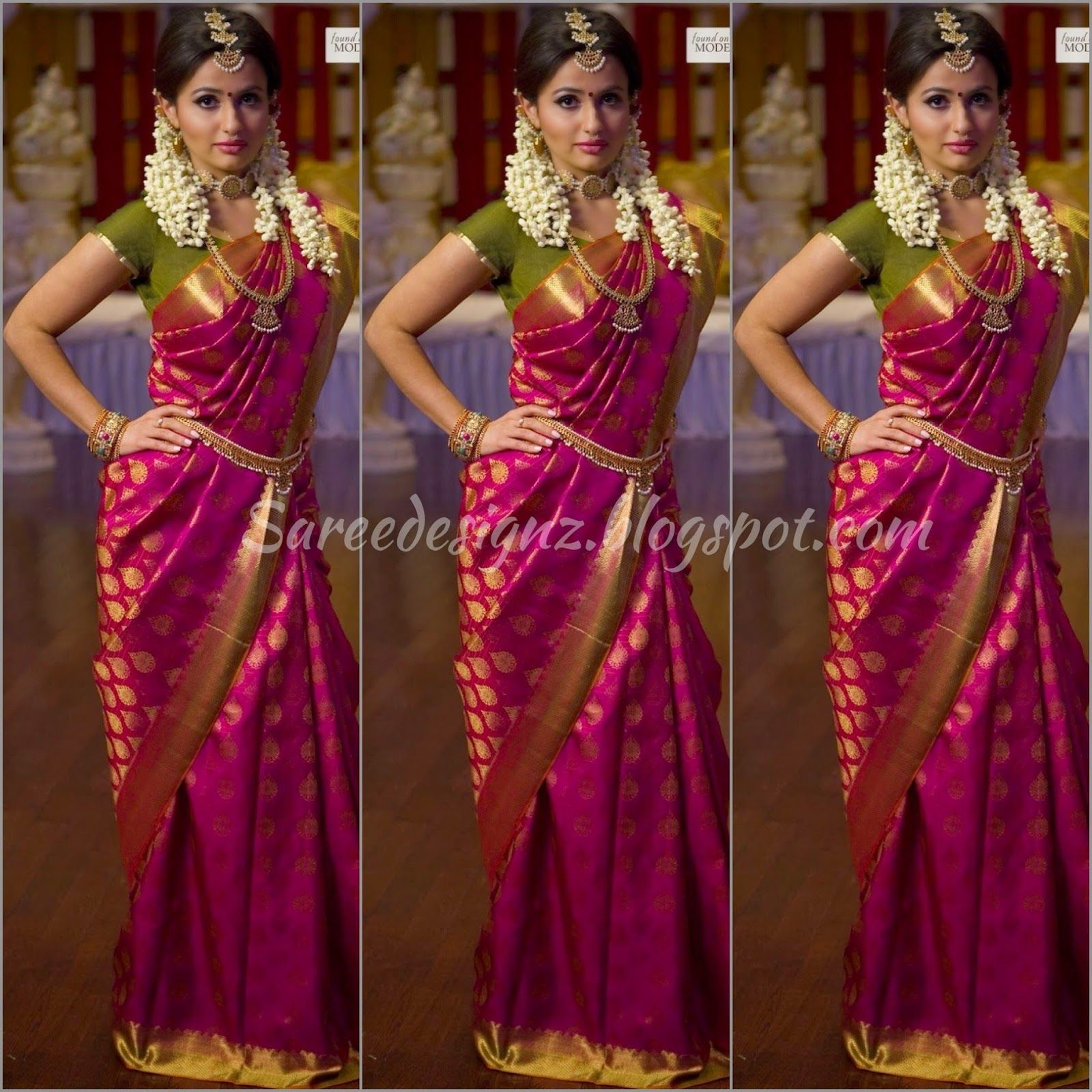 Pranitha At VRK Silks Brides From Around The World
