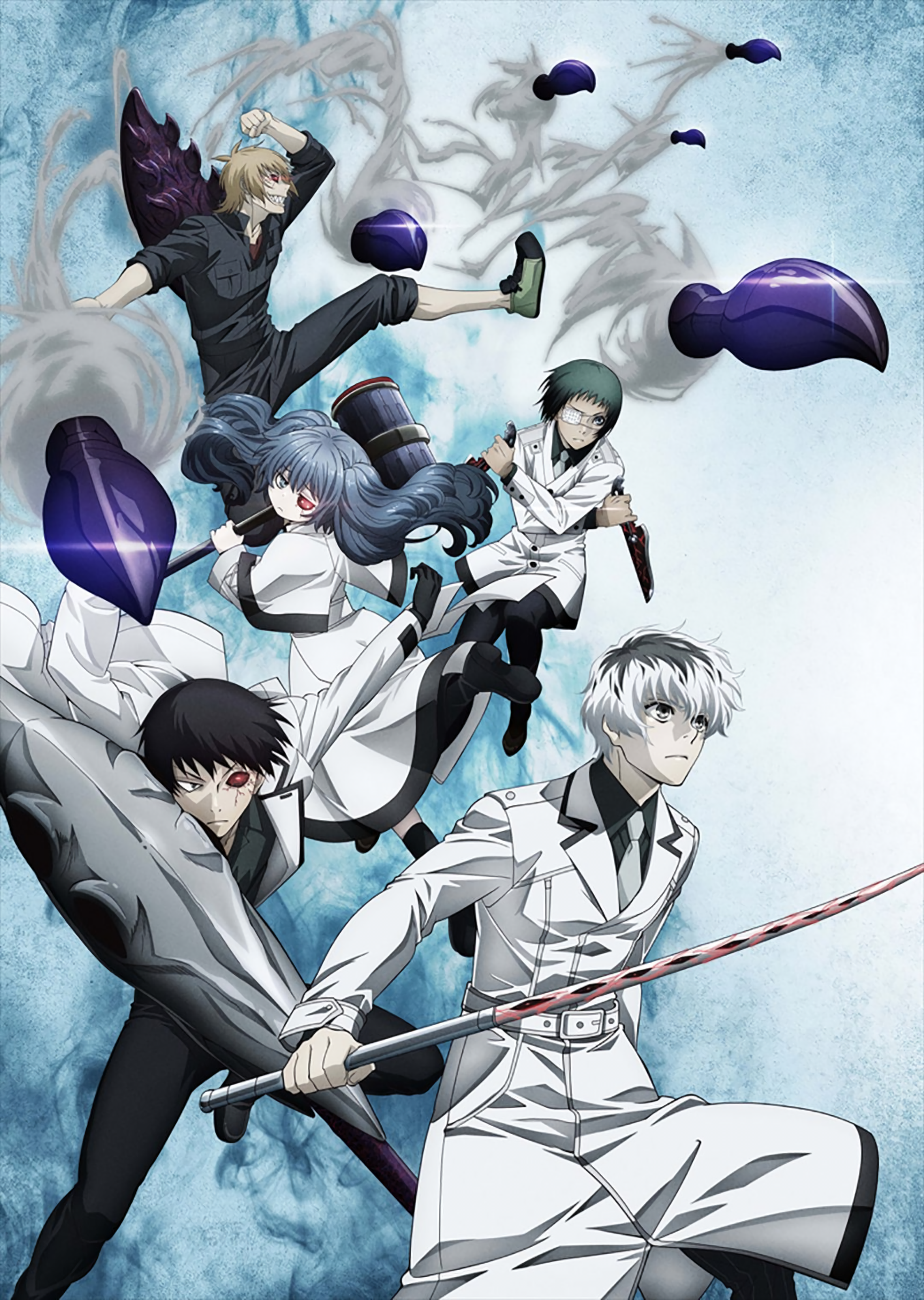 Tokyo Ghoulre Quinx Squad Tokyo ghoul pictures, Tokyo