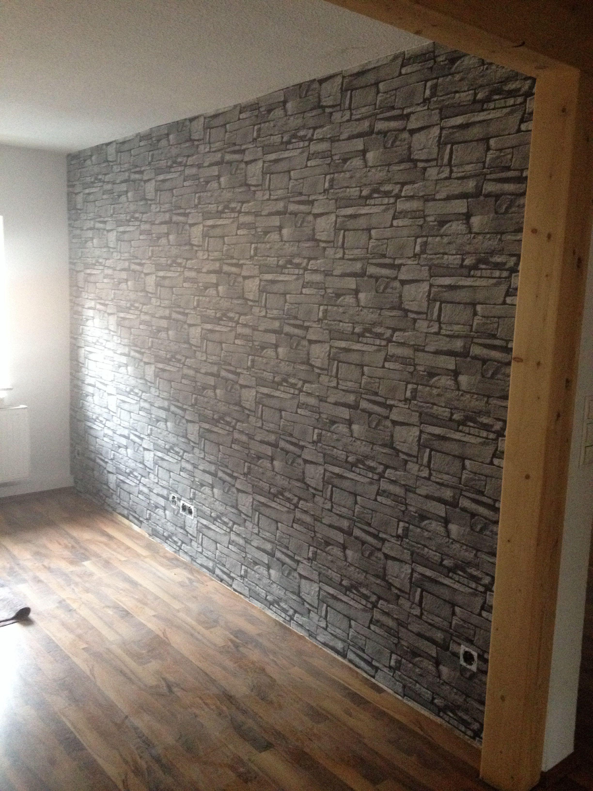 Steintapete Wohnzimmer