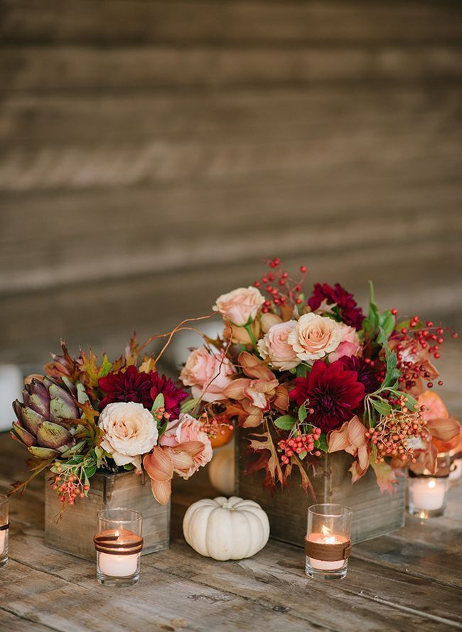 Photo of Have an autumn wedding? Work in the season with a little pumpkin seasoning! …
