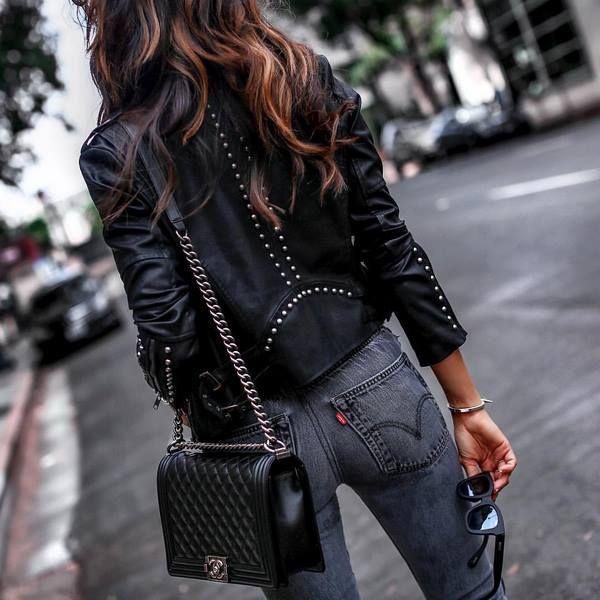 женские кожаные куртки 2020 2021