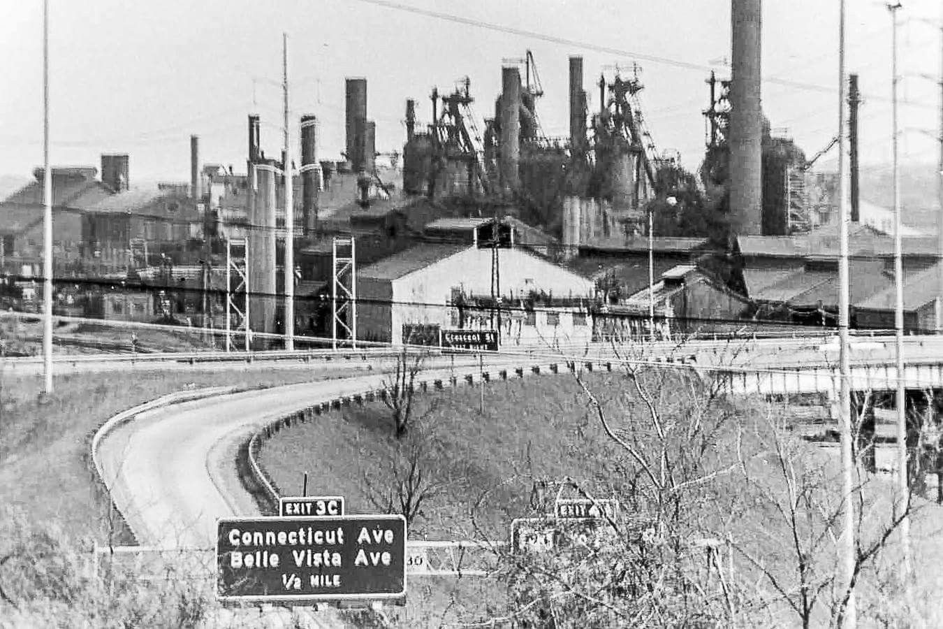 U S Steel S Ohio Works From I 680 West By Salt Springs