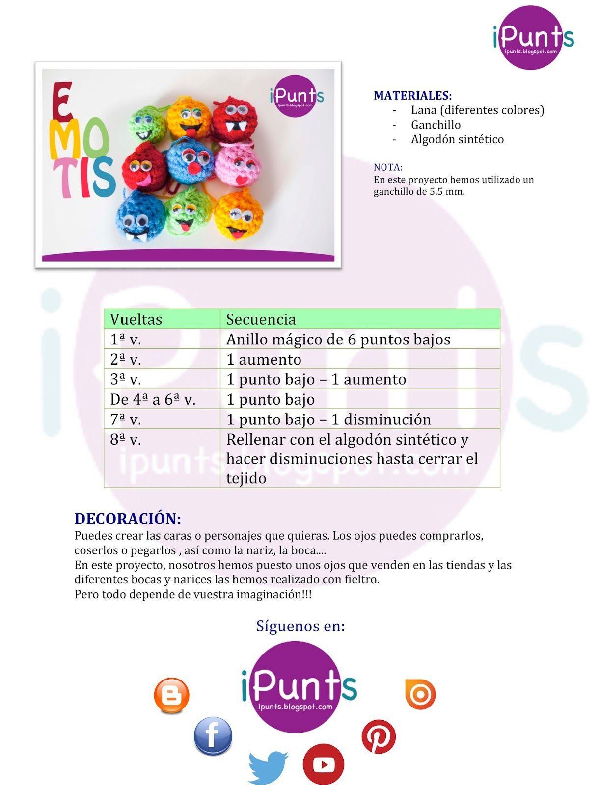Amigurumi Facil Crochet Ganchillo Mu Ecos Ipunts Patron - Patrones ...