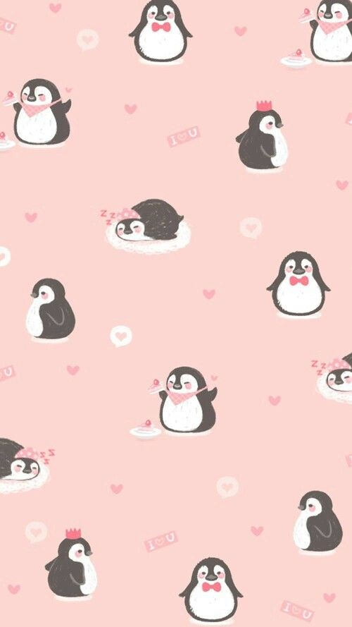 Pin By Xxxxxx On Wallpapers Cute Christmas Wallpaper Penguin Wallpaper Wallpaper Iphone Cute