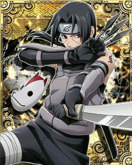 itachi uchiha naruto shippuden sasuke itachi anbu anime characters