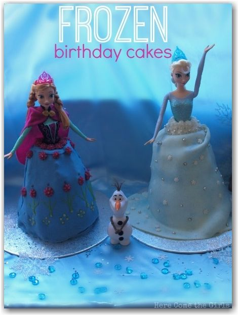 Disney Frozen Birthday cakes Disney frozen birthday Disney frozen