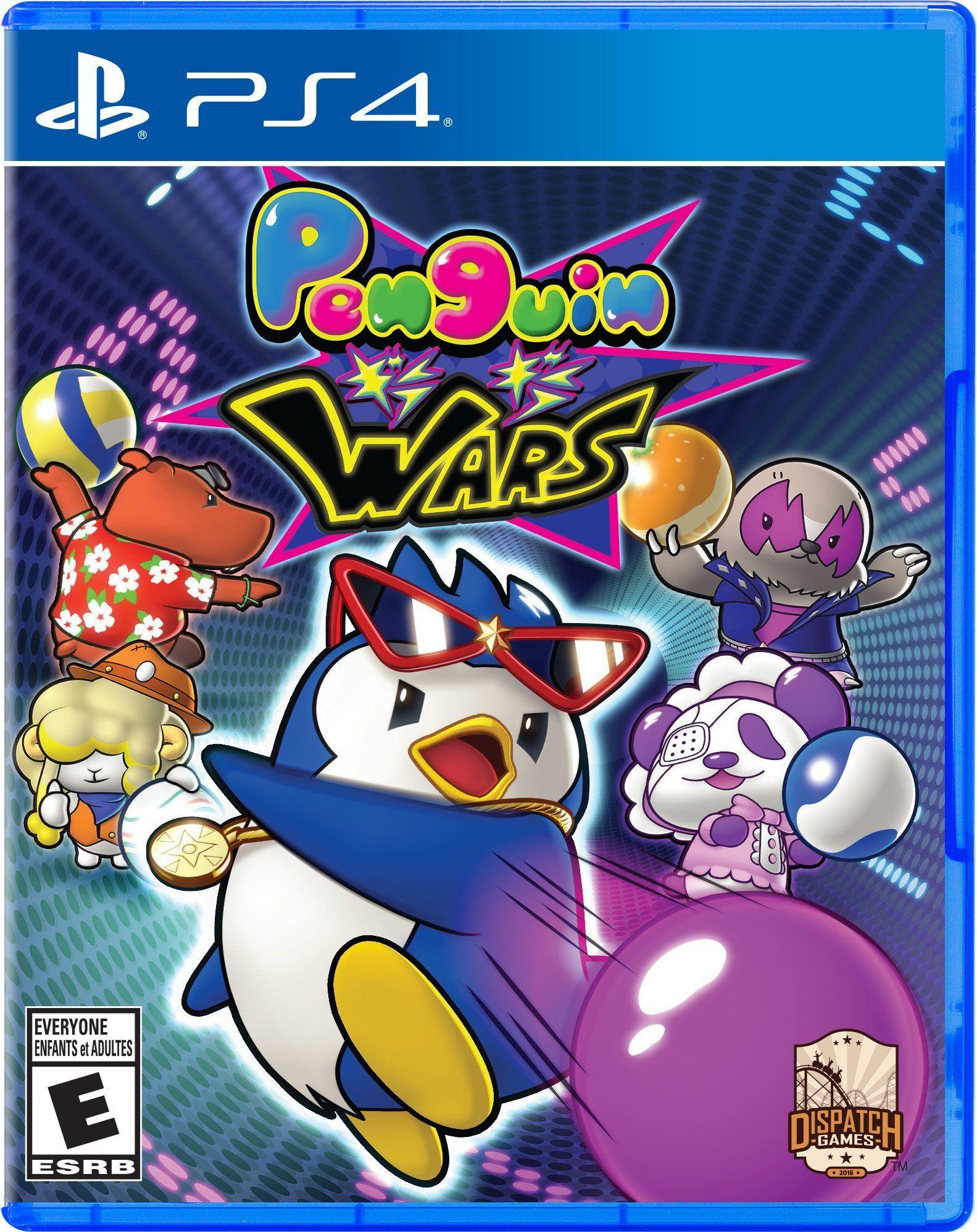 Penguin Wars Playstation
