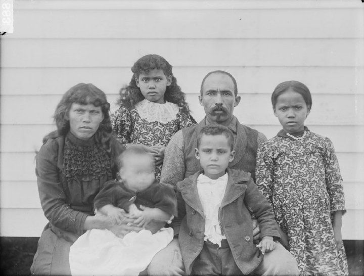 Native American Indian Pamunkey 1899 antique photograph