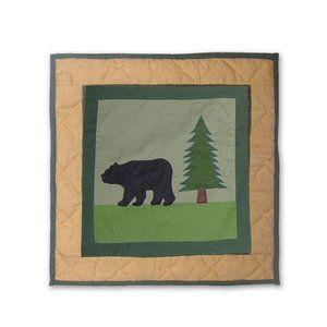 Walmart Patch Magic Lodge Fever Bear Toss Pillow Cotton Throw Pillow Pillows Toss Pillows