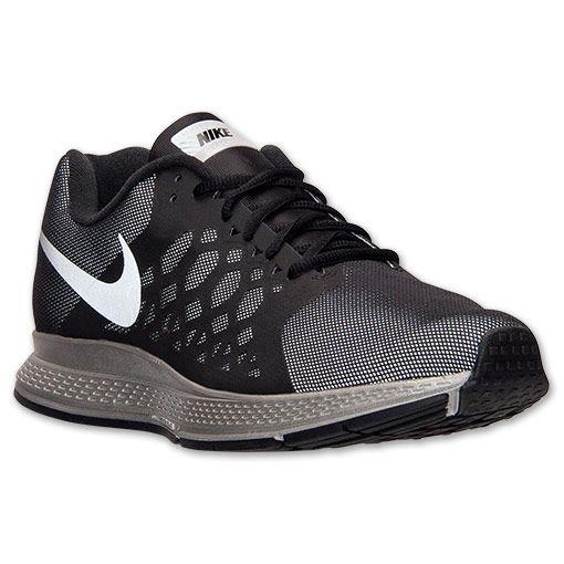 Men's Nike Zoom Pegasus 31 Flash Running Shoes | Finish Line | Black/Reflect  Silver
