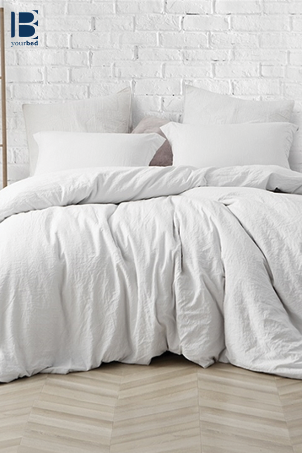 Best Oversized Natural Loft Comforter Stylish Farmhouse White Extra Thick And Super Soft Extra Large Bedding White Bed Set White Comforter Bedroom White Bedding