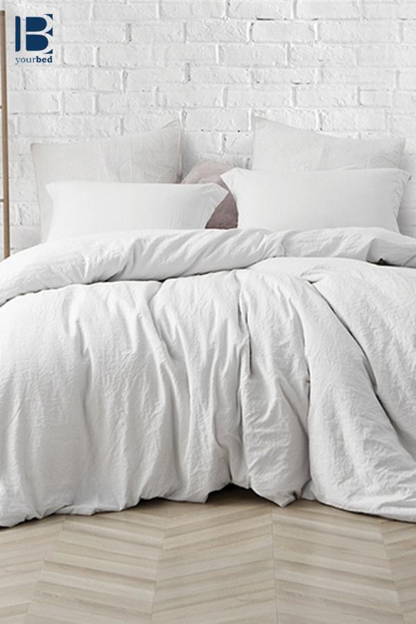 Best Oversized Natural Loft Comforter Stylish Farmhouse White