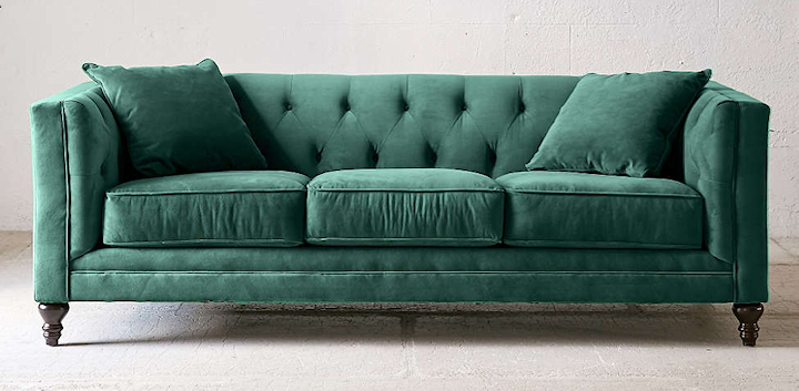 Searching For The Perfect Velvet Sofa | Furniture | Velvet sofa ...