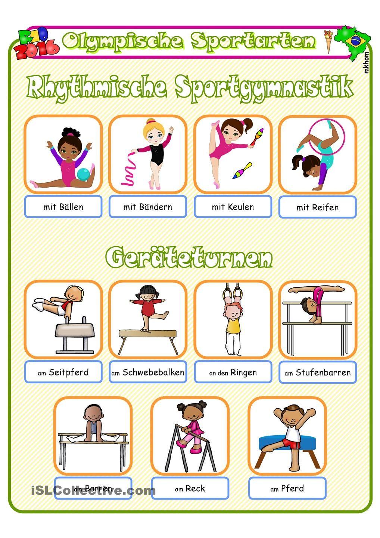Sportarten Olympische Sommerspiele