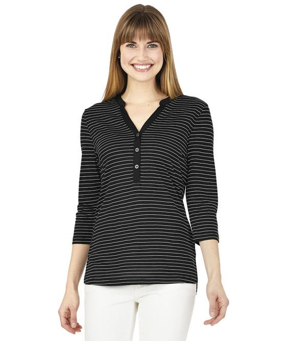 Charles River 2913 Womens Henley from NYFifth
