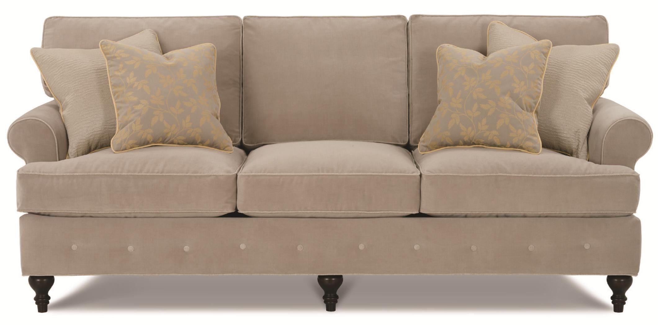 Kensington Collection Gerrard Casual Loose Pillow Back Sofa With