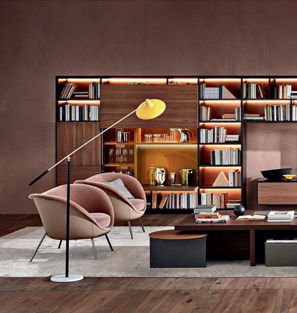 Fauteuil rembourr avec accoudoirs fauteuil for Mobili italiani design