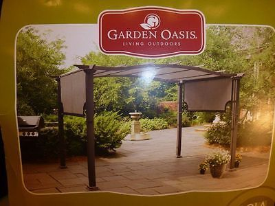 Replacement Canopy 4 Pergola M12261 Garden Oasis New 81 25l X 192w Garden Oasis Pergola Replacement Canopy