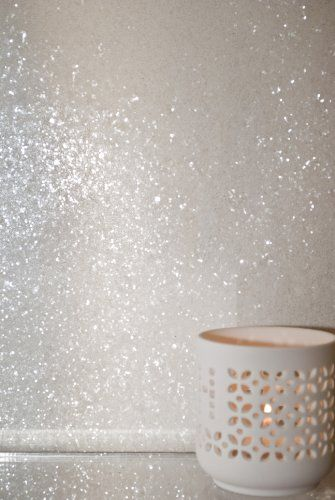 Glitter Wallpaper (Ivory) - price per metre Glitter Bug Wallpaper http://www.amazon.co.uk/dp/B00E2U0U1S/ref=cm_sw_r_pi_dp_4Rtmvb1BSP1G6