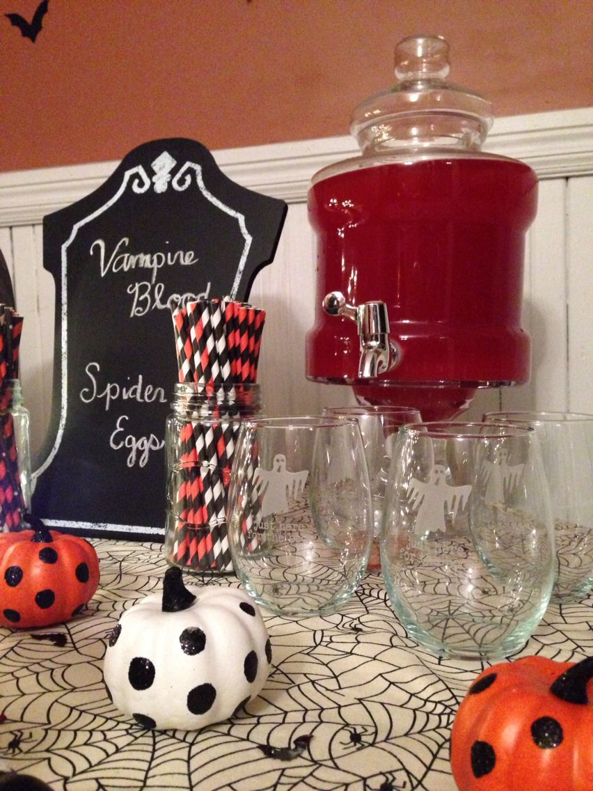 Halloween party decorations Halloween Decor Pinterest - Halloween Table Decorations Pinterest
