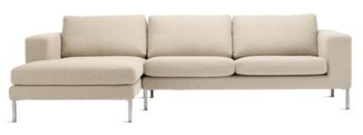 Strange Neo Sectional Chaise Left Cocoonhome Dwr Carries This Too Uwap Interior Chair Design Uwaporg
