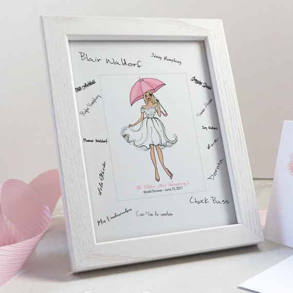 bridal shower guest book alternative bridal shower gifts for bride hen party guest book futur