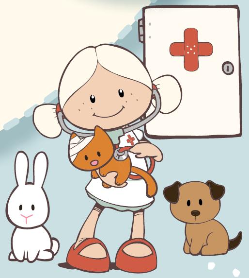 Nici Minilina Veterinaria Dibujo Dibujos De Profesiones Figuras Geometricas Para Niños