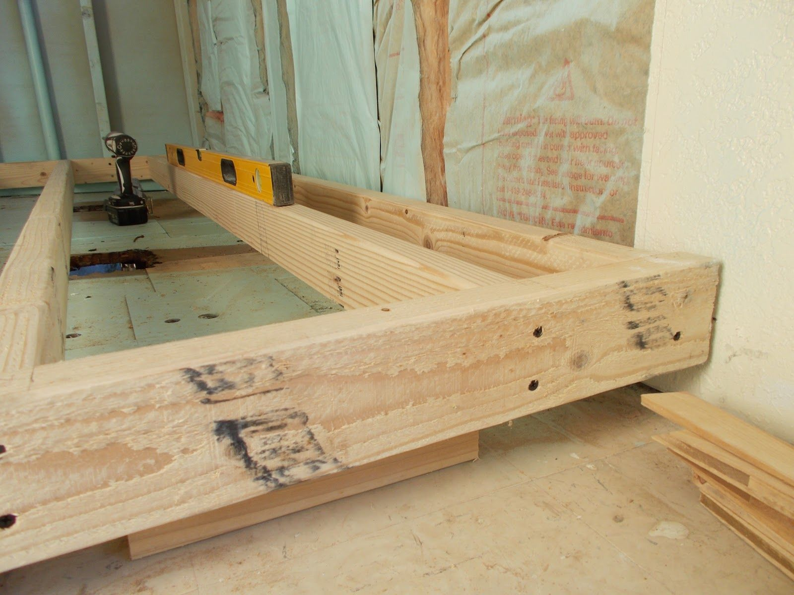 Raise a sunken bedroom floor we have approx 11 inches to for Raised floor house