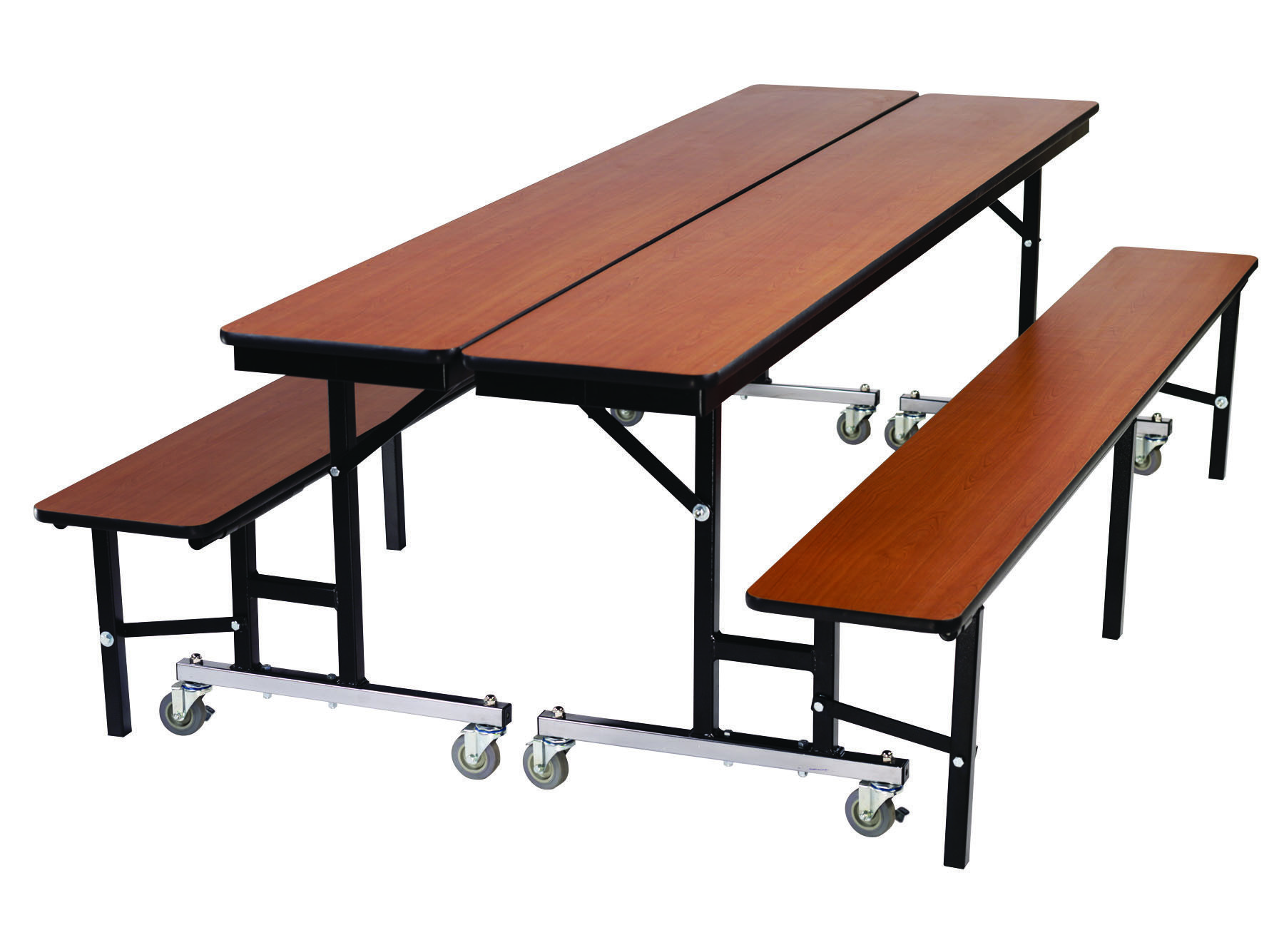 The Mobile Convertible Bench Is A Education Facility 39 S Best Piece Of Furniture Cafeteria Table Convertible Table Mobile Table