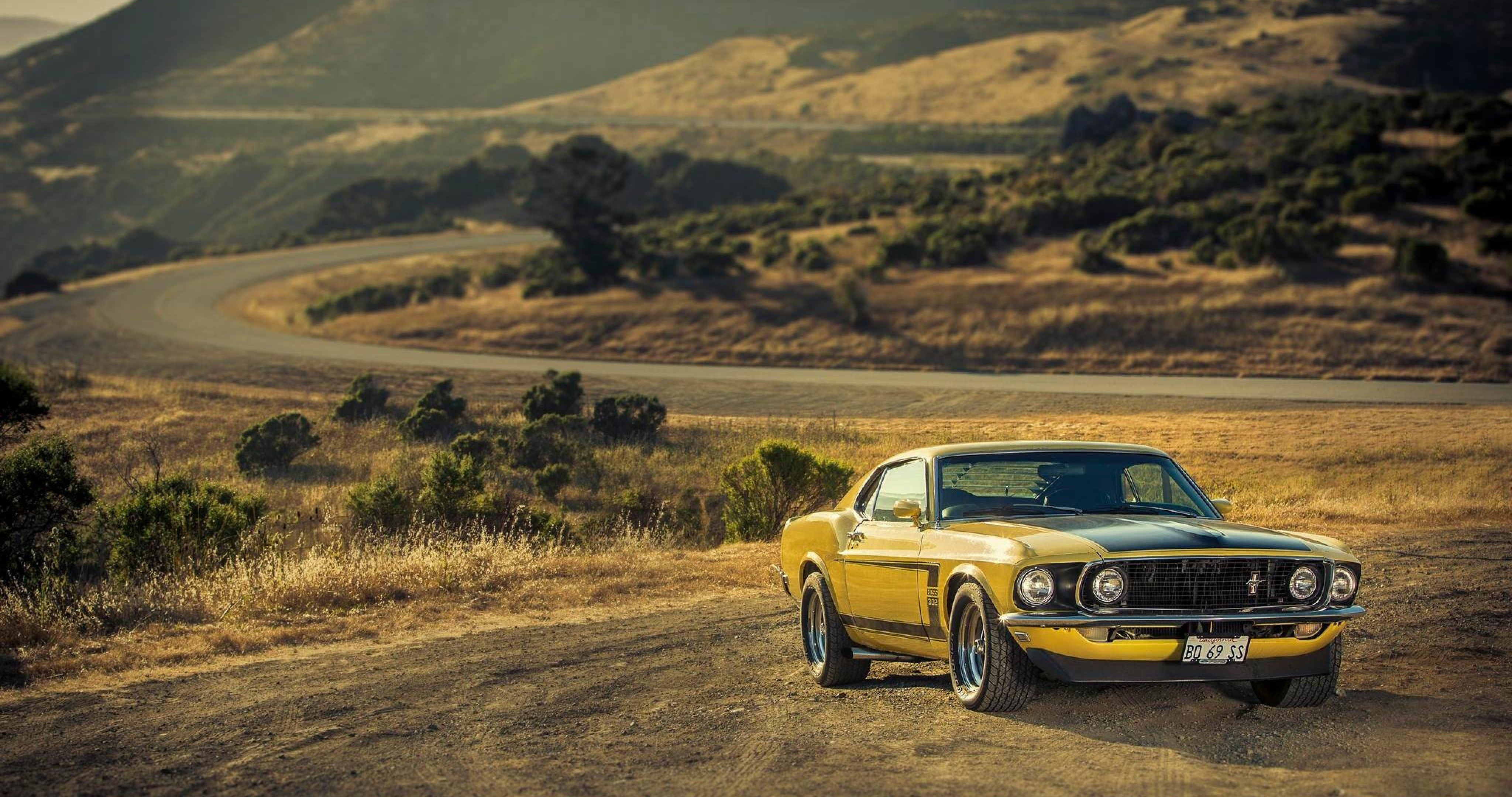 Ford mustang boss 302 4k ultra hd wallpaper
