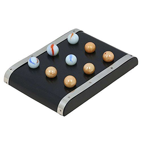 Handmade Wood and Brass Tic Tac Toe Travel Game with Marbles Games for Kids ShalinIndia http://www.amazon.co.uk/dp/B00QGOXY1Q/ref=cm_sw_r_pi_dp_GlKJvb0GEXZFV