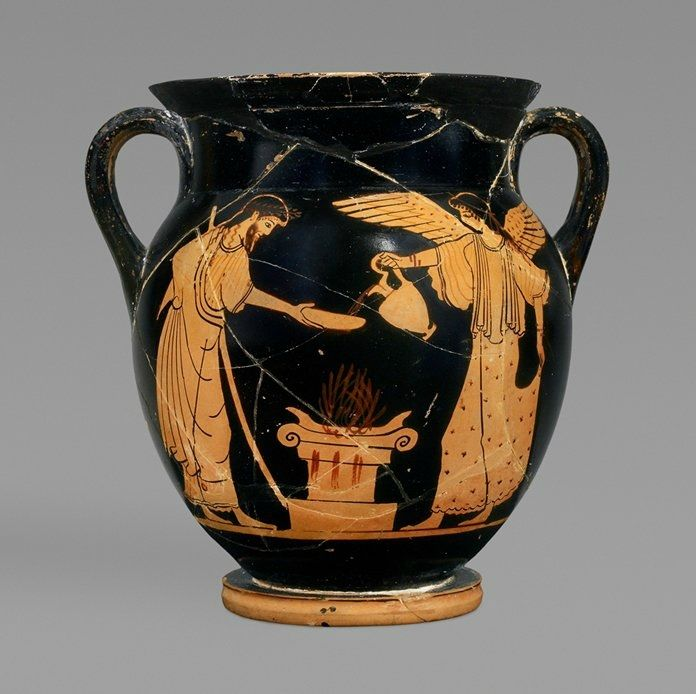 Greek Attic Attributed To The Berlin Painter Athenian