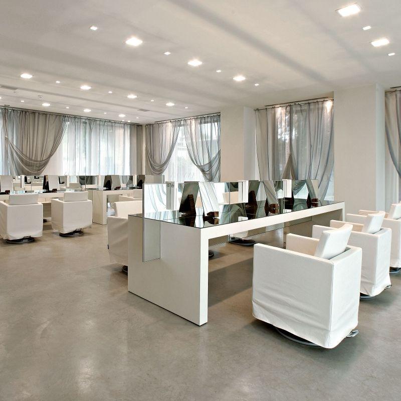 Gianni Marcon - Seregno / Italy (2008) Hair salon design Home decor Salon design