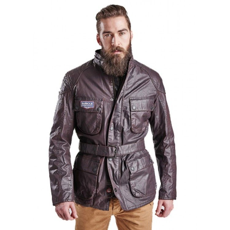 John Andy Com Barbour Triumph Biker Wax Jacket Barbour