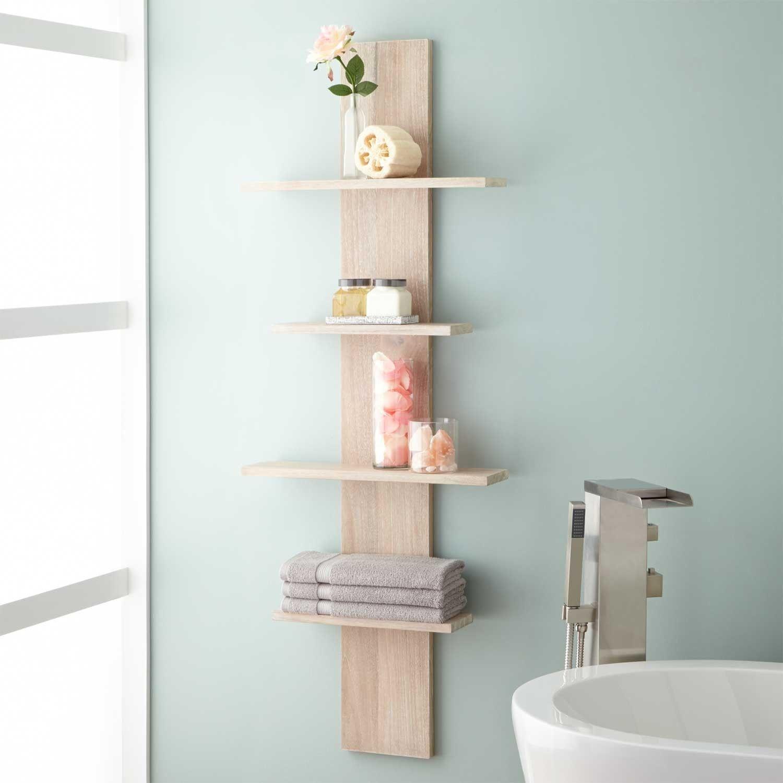 Bathroom Shelves Bathroom Shelves chapter bathroom storage wall ...