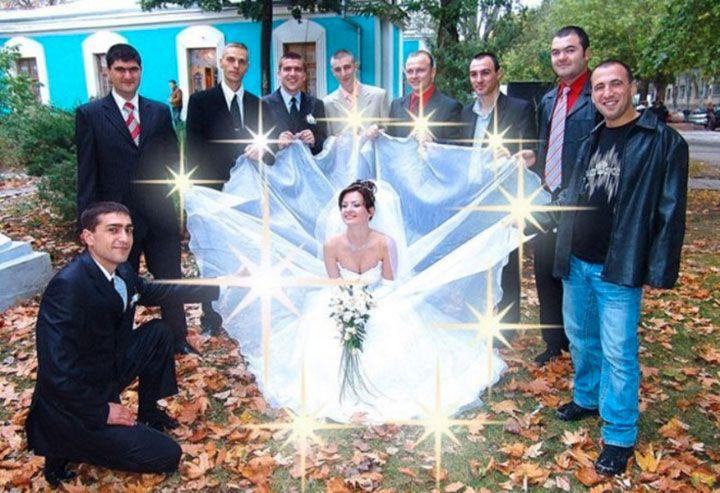 Les Russes ne font jamais rien comme les autres, même leurs mariages sont totalement déjantés !