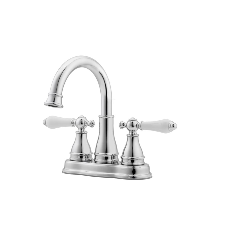 Pfister Sonterra Polished Chrome 2-Handle 4-in Centerset WaterSense ...