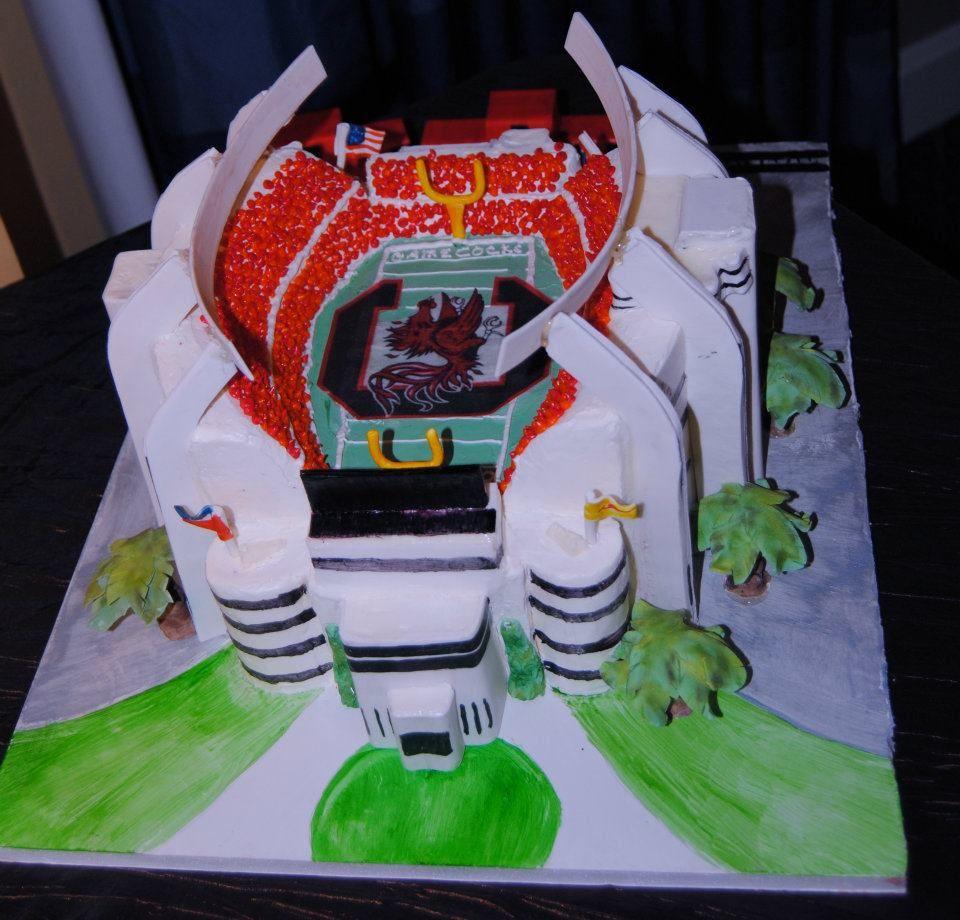 Grooms Cake That Was A Replica Of Williams Brice Stadium