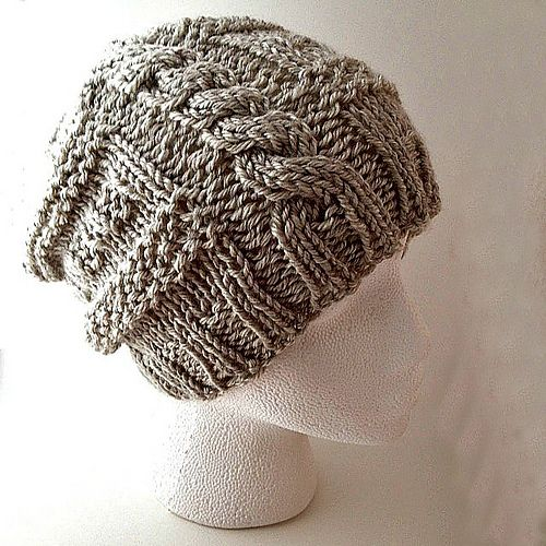 Got It Going On Hat pattern by Knitting Pretty {on the farm}