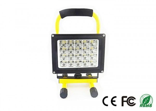 Waterproof 30w Rechargeable Led Flood Light With Battery Power Rechargeable Led Flood Lights