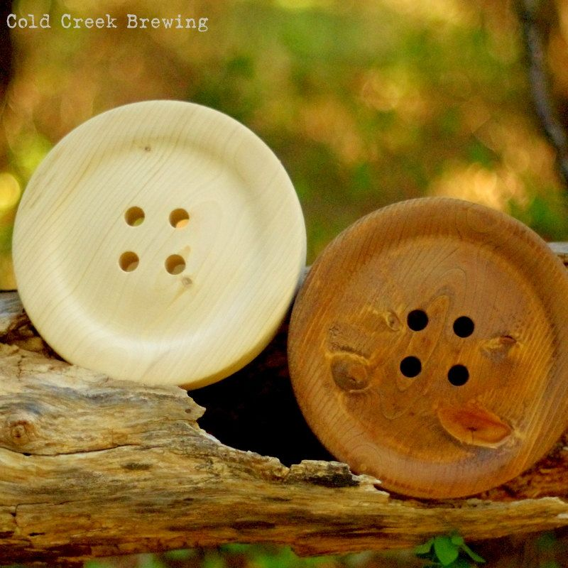 Large 8.5 Inch Wooden Button - Huge Wood Button- Gift for Mom ...