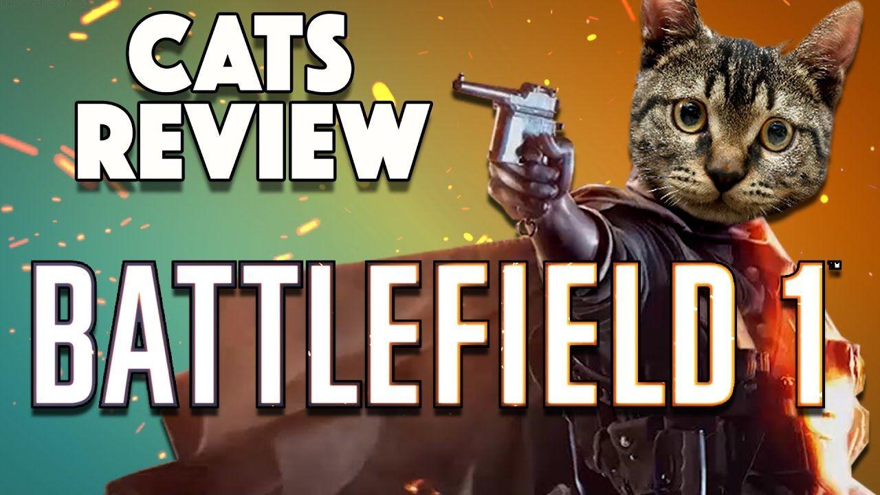 Kitten Plays Battlefield 1 And Reviews It Battlefield 1 Game