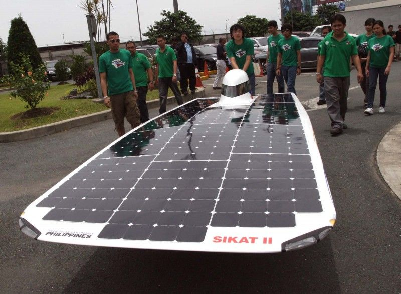 Solarpowered Pinoy car racing against Renewable energy
