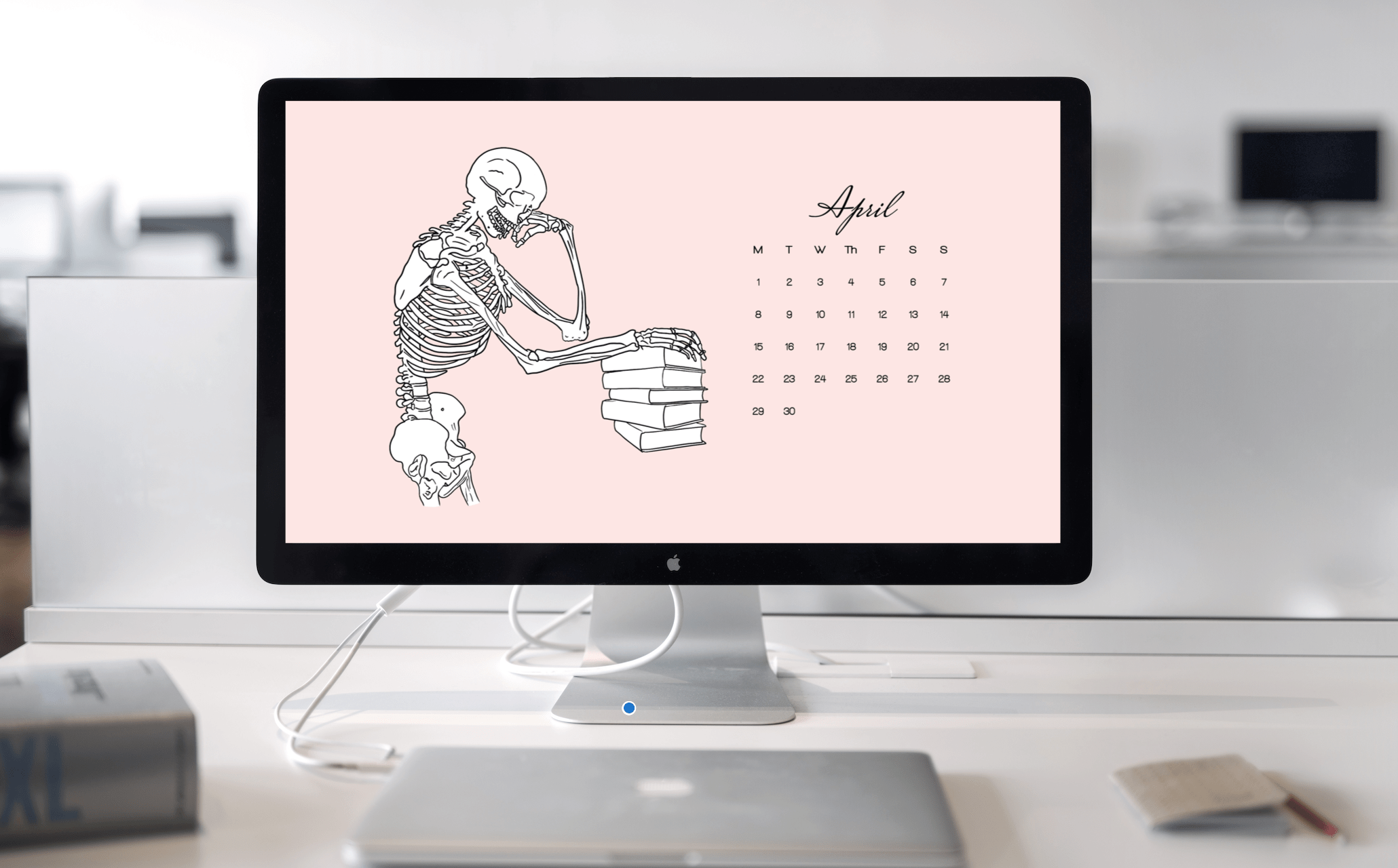 Free Desktop Wallpapers for April A Med Student's