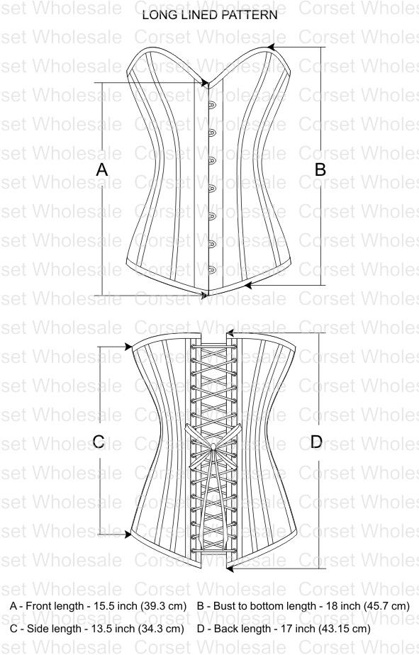 corset pattern | Craft Ideas | Pinterest | Niñas, Patrones y Corsés